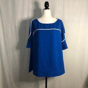 Alfani Blouse Blue Size 1x